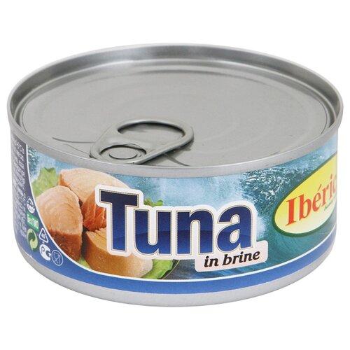 Iberica Тунец в собственном соку, 160 г lorado томаты в собственном соку 720 мл