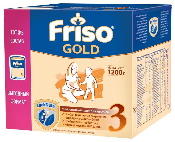 Смесь Friso Gold 3 (от 1 года до 3 лет) 1200 г