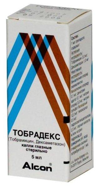 Тобрадекс капли гл. 5мл