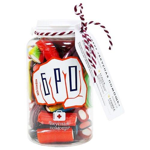 конфеты вкусная помощь от повседневного стресса 250 мл Мармелад Вкусная помощь Для Бро ассорти 190 г