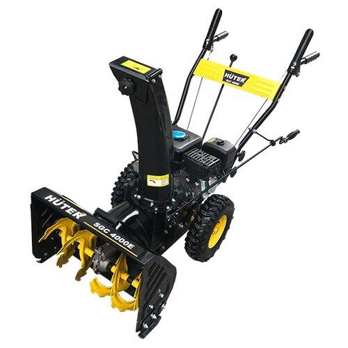 Снегоуборщик бензиновый Huter SGC 4000E самоходный снегоуборщик huter sgc 4800