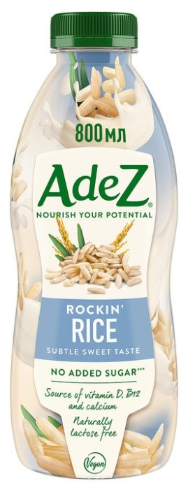 Рисовый напиток Adez Потрясающий рис 800 мл
