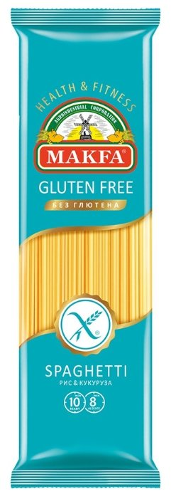 Макфа Макароны Spaghetti рис&кукуруза без глютена, 300 г