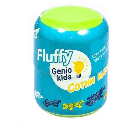 Пластилин Genio Kids Fluffy зеленый (TA1500/G)Пластилин и масса для лепки<br>