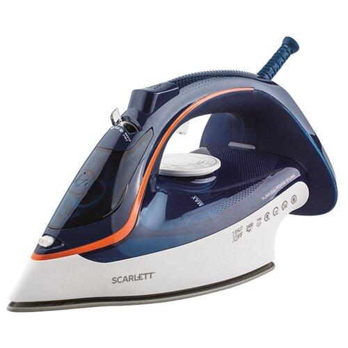 Утюг Scarlett SC-SI30K35 синий/белый/оранжевый утюг scarlett sc si30p17 голубой белый