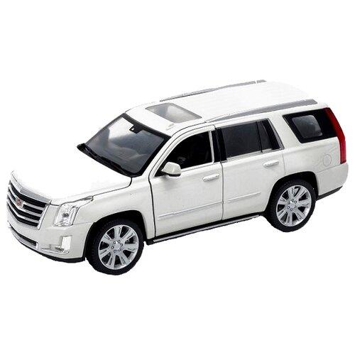 цена на Легковой автомобиль Welly 2017 Cadillac Escalade (24084) 1:24 белый