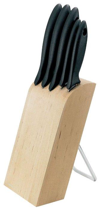 Набор FISKARS Essential 5 ножей с подставкой