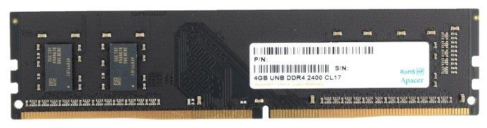 Память Apacer DDR4 4Gb (pc-17000) 2133MHz Retail AU04GGB13CDWBGH/EL.04G2R.LDH