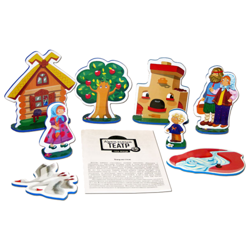 Купить Десятое королевство Театр настольный кукольный Гуси-лебеди (01361), Кукольный театр