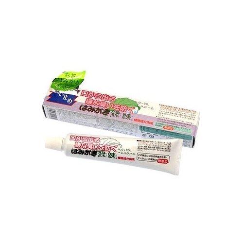Зубная паста Fudo Kagaku Рэкурэн для защиты от кариеса и зубного камня отбеливающая с растительными экстрактами, 80 г