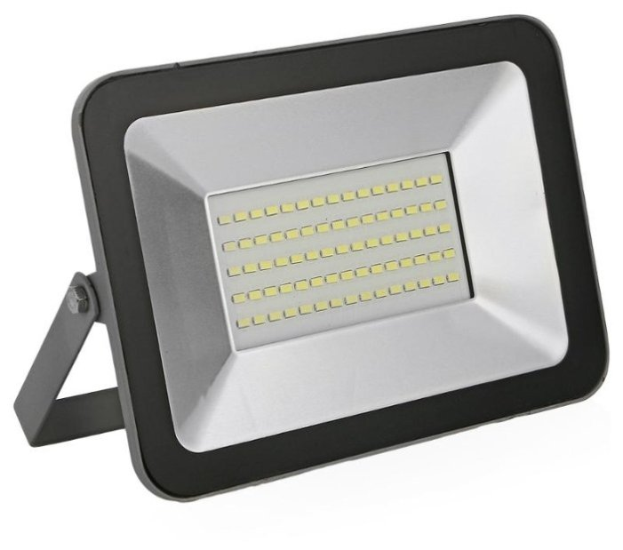 FL-LED Light-PAD 50W Grey 2700К 4250Лм 50Вт AC220-240В 170x116x26мм 1220г - Прожектор