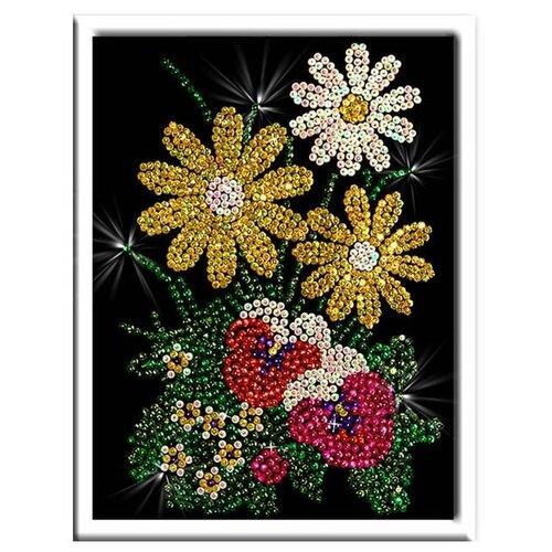 Волшебная Мастерская Мозаика из пайеток Букет 016 картины своими руками волшебная мастерская мозаика из пайеток букет