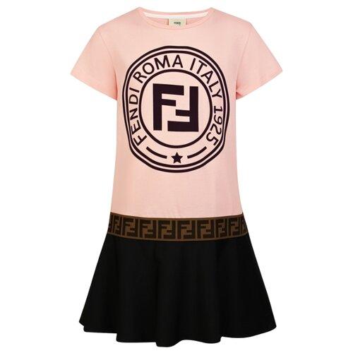 Платье FENDI размер 128, розовый