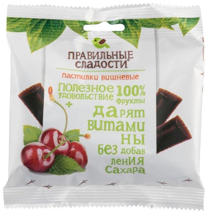 Пастилки вишневые Правильные сладости, 90 г
