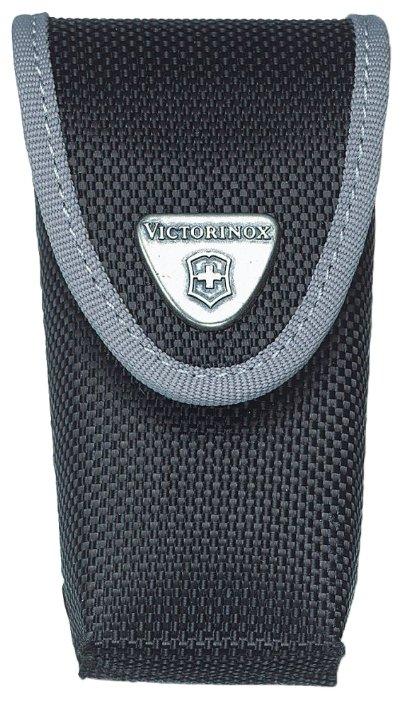 Чехол для складных ножей Victorinox 4.0543.3, рукоять 91 мм 2-4 уровня, нейлон, цвет черный, крепление на пояс, Victorinox (Викторинокс)