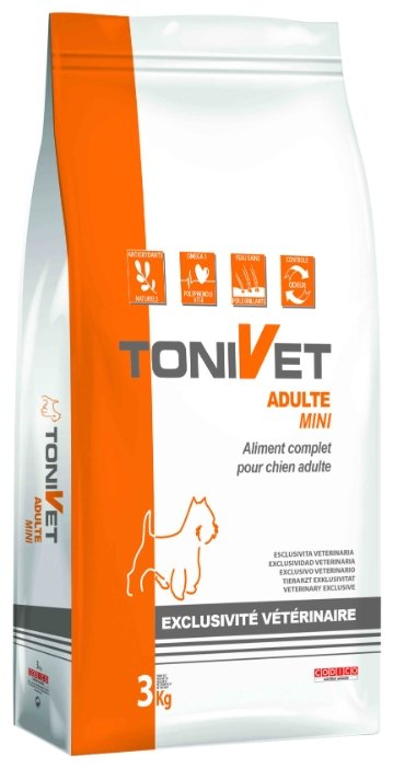 Корм для собак Bab'in Tonivet Adulte Mini