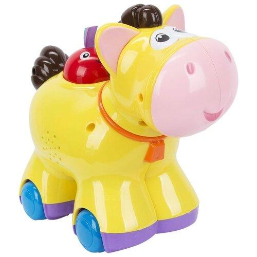 Интерактивная развивающая игрушка S+S Toys Веселые зверята Лошадь ролевые игры s s toys игрушка дрель