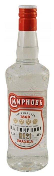 Водка Смирновъ №21, 0.5 л