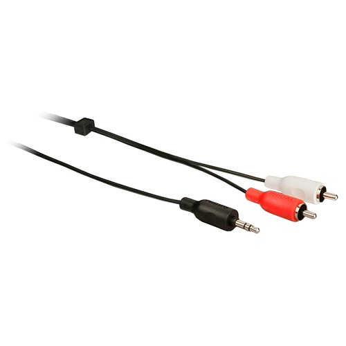 Фото - Кабель Philips mini jack 3.5 mm - 2RCA (SWA2520W/10) 3 м черный кабель