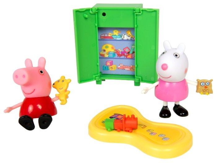 Игровой набор Пеппа и Сьюзи играют в игры, «Свинка Пеппа»