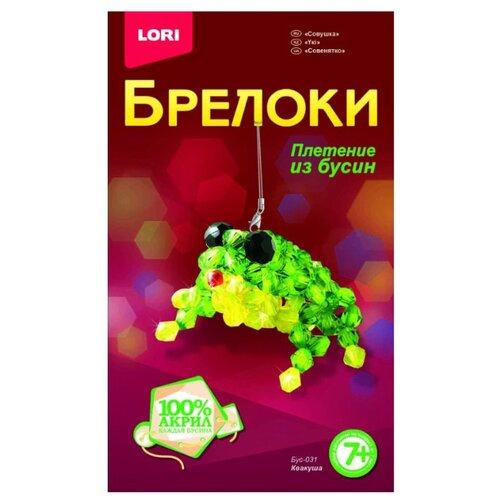 Купить LORI Набор для бисероплетения Квакуша зеленый/желтый, Бисер и бисероплетение