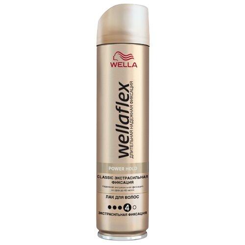 Wella Лак для волос Wellaflex Классический экстрасильной фиксации, экстрасильная фиксация, 250 млЛаки и спреи<br>