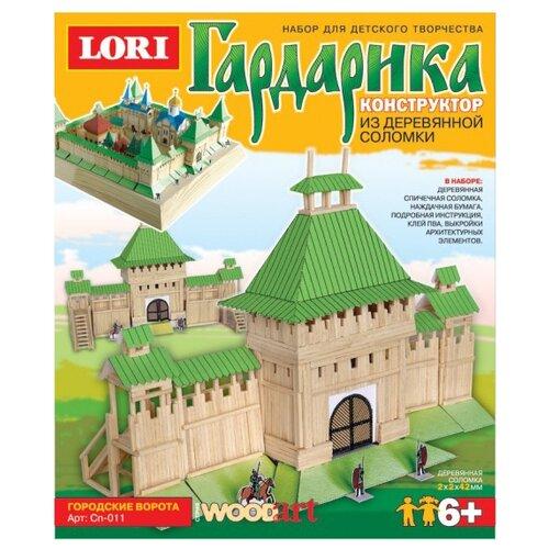 Купить Сборная модель LORI Гардарика Городские ворота (Сп-011), Сборные модели
