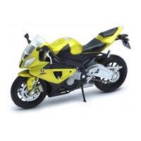Мотоцикл Welly Bmw s1000rr желтый 12810p