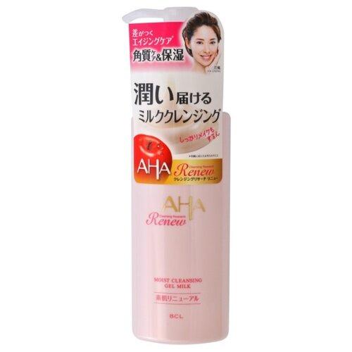 AHA Очищающее и увлажняющее гель-молочко для снятия макияжа с фруктовыми кислотами, 150 мл маска с фруктовыми кислотами фирмы кора