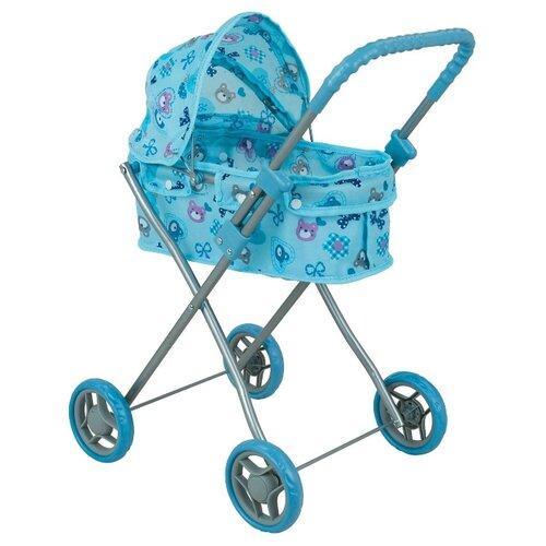 Коляска-люлька Buggy Boom Mixy (8011) голубой/бантик buggy boom коляска для кукол buggy boom infinia трансформер салатовая