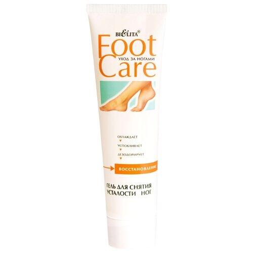 Купить Bielita Гель для снятия усталости ног Foot care 100 мл туба