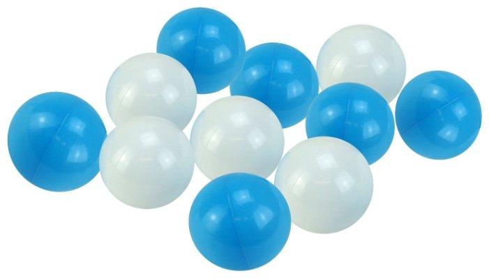 Шарики для сухих бассейнов Hotenok Облака 50 штук, 7 см (sbh134)