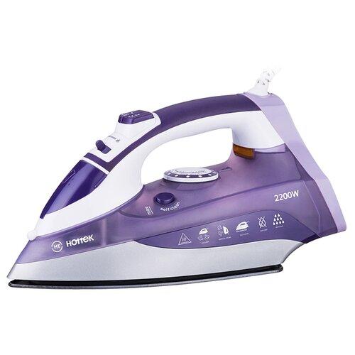 Утюг Hottek HT-955-001 фиолетовый/белый