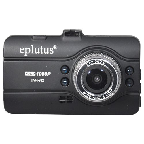 видеорегистратор eplutus dvr 919 антисептик спрей для рук в подарок Видеорегистратор Eplutus DVR-932, черный