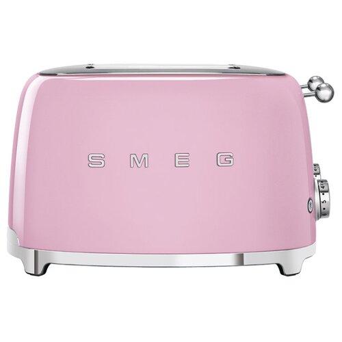 Тостер smeg TSF03PKEU, розовый