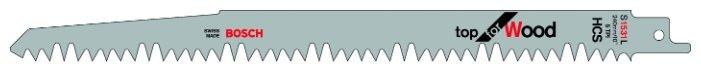 Пильное полотно для сабельной пилы BOSCH S1531L 2 шт.