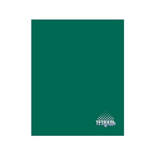 Купить КТС-ПРО Тетрадь С0791-14 в клетку, 96 л., темно-зеленый, Тетради