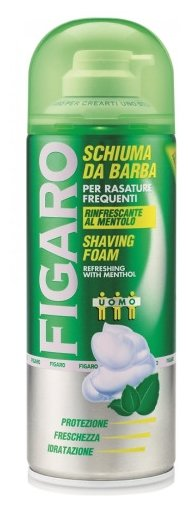 Пена для бритья с ментолом Figaro