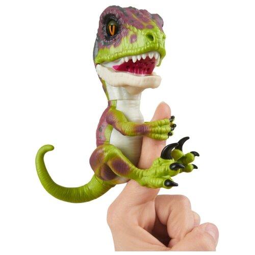 Купить Интерактивная игрушка робот WowWee Fingerlings Untamed Raptor Series 1 Стелс, Роботы и трансформеры