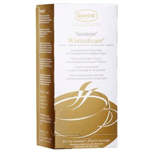 Чай травяной Ronnefeldt Teavelope Winter dream в пакетиках, 25 шт. чай зеленый ronnefeldt teavelope classic green в пакетиках 25 шт