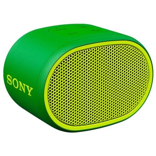Портативная акустика Sony SRS-XB01 зеленый портативная акустическая система sony srs xb01 l lightblue
