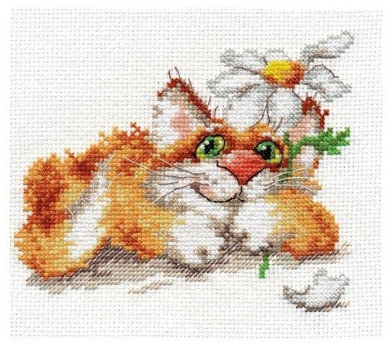 Алиса Набор для вышивания крестиком Мечтаю... 14 х 12 см (0-111)