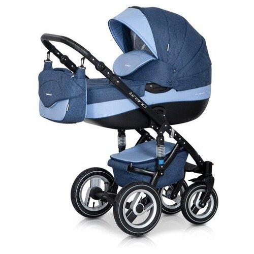 Универсальная коляска Riko Brano (3 в 1) 02 denim blue универсальная коляска riko brano 2 в 1 02 denim blue