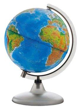 Глобус физико-политический Глобусный мир d=420мм, с подсветкой на круглой подставке (10355)