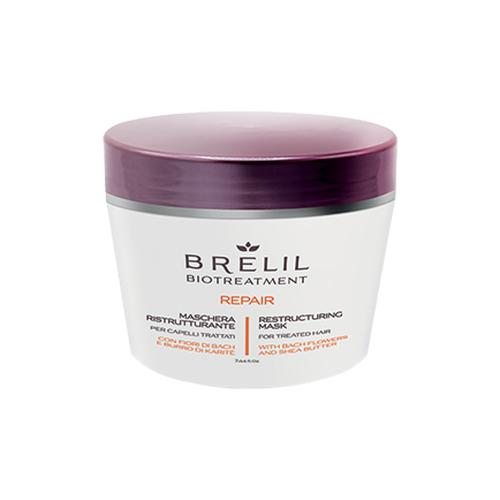 Brelil Professional BioTraitement Repair Маска для поврежденных волос восстанавливающая, 220 мл