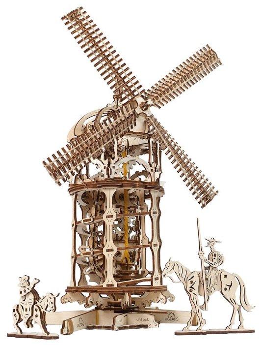 Сборная модель UGEARS Мельница-башня,,