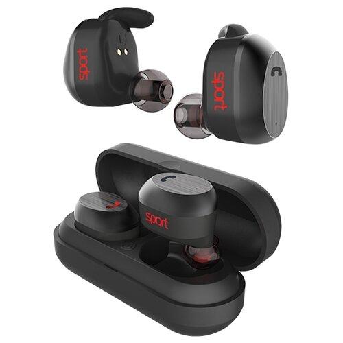 Наушники ELARI NanoPods Sport черный earphone elari nanopods
