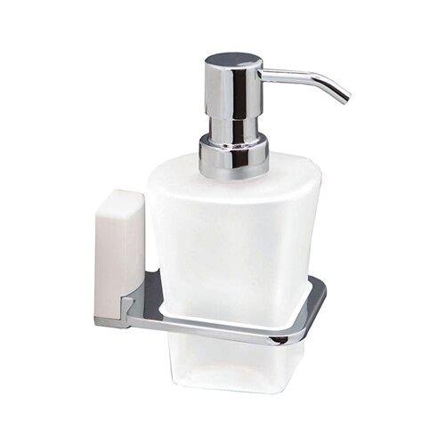 Дозатор для жидкого мыла WasserKRAFT Leine К-5099WHITE хром/белый дозатор для мыла wasserkraft leine k 5099 white
