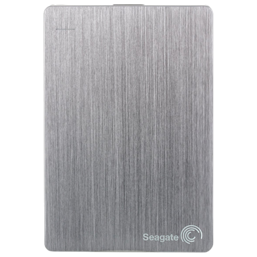 Фото - Внешний HDD Seagate Backup Plus Slim Portable Drive 1 ТБ серебристый внешний hdd seagate backup plus slim portable drive 1 тб черный