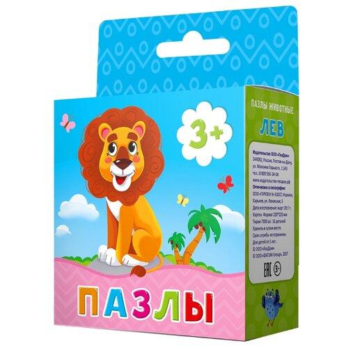 Купить Пазл ГеоДом Животные Лев (4607177454368), 16 дет., Пазлы